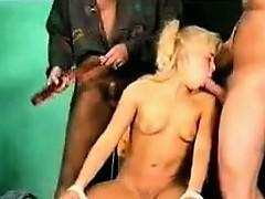 Blonde Teen Girl Loving Fucking Classic
