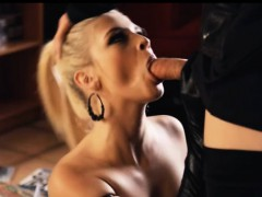 Stunning whore Aubrey Gold in ligerie gets hard pounded
