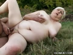 Chunky Mature Gets Pounded