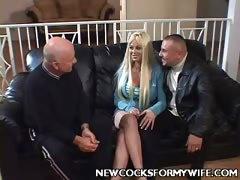 Busty Wife Carson Threesome
