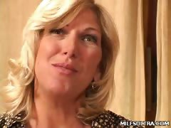 Mature MILF Getting Some