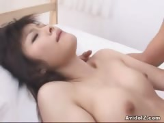 Haruna Ayase hot small tits action right here